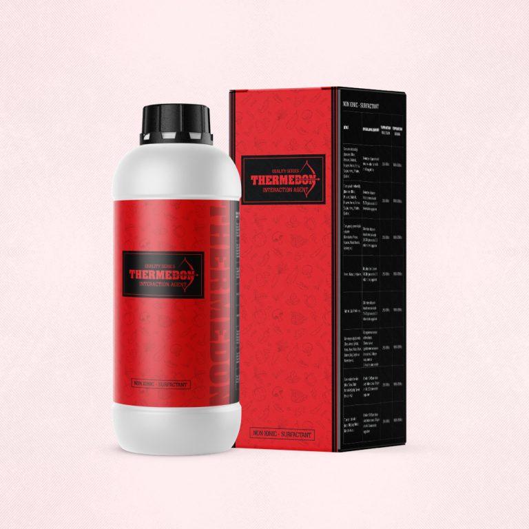 Thermedon Şişe Etiketi ve Kutu Tasarımı